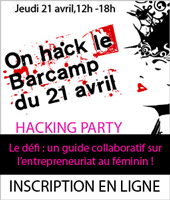 Hacking Party Femmes Entrepreneurs