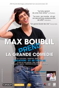 Max Boublil prend La Grande Comédie