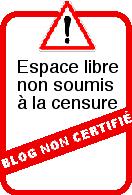 Non à la certification des blogs