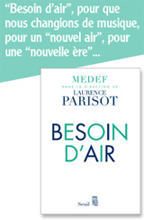 Besoin d'air (Laurence Parisot)