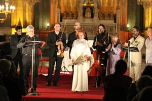Bérengère Dautun et le Trio de cordes