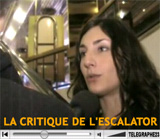 LA CRITIQUE DE L'ESCALATOR
