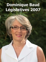 Dominique BAUD : Lgislatives 2007